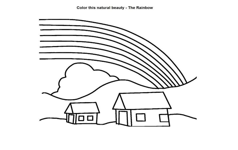 Rainbow Coloring Pages Pdf : Rainbow coloring pages for kids