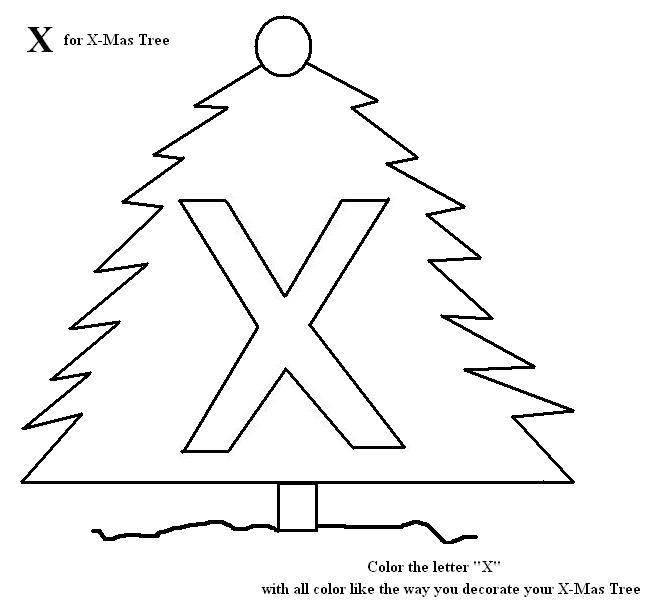 letter x coloring pages preschool letter x coloring printable