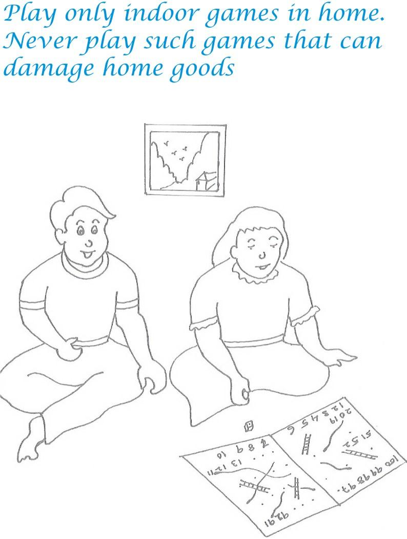 Good Manners Coloring Pages For Kids Coloring Pages of Manners For