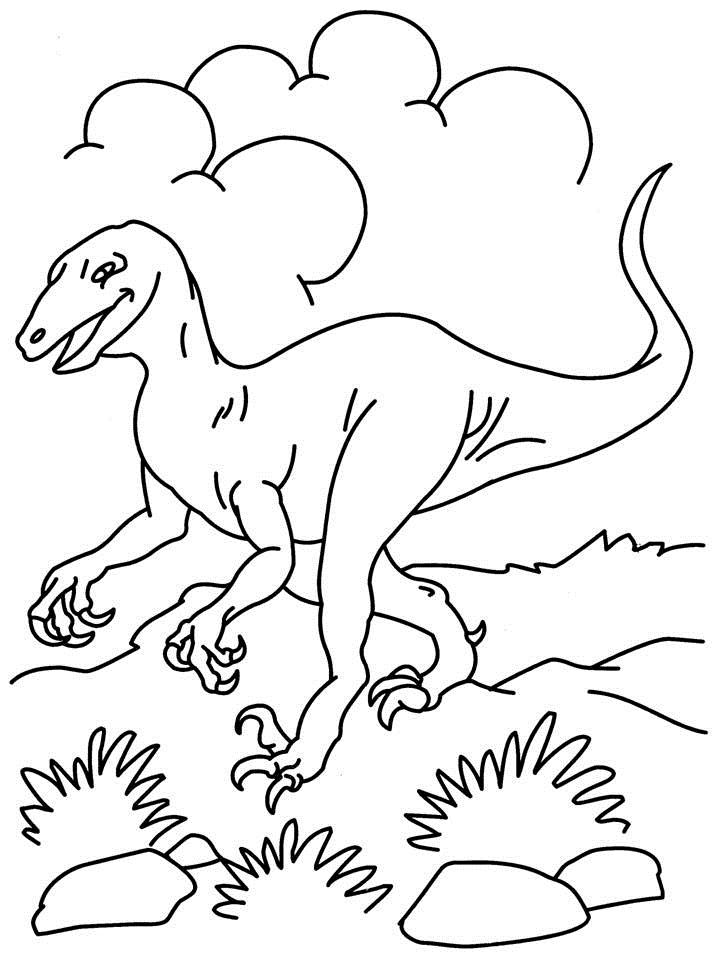 Dinosaur Coloring Pages Pdf : Dinosaur coloring page printable