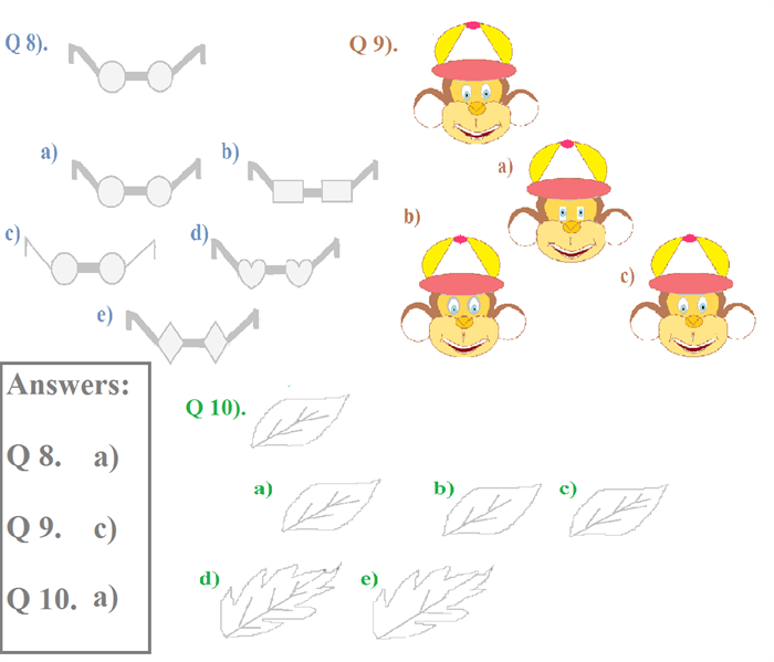 ... matching images from the worksheets given below open pdf file and