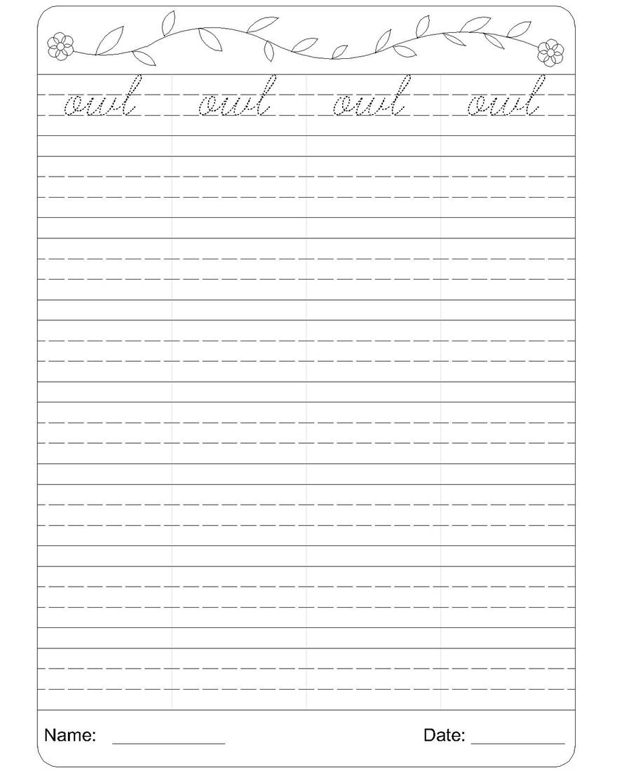 Free Worksheet Cursive Writing Worksheets Printable cursive writing practice worksheets 1000 images about handwriting preschool alphabet sheets cursive