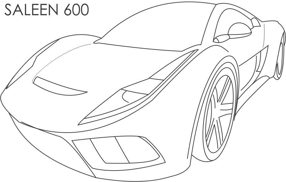 gta 5 cars coloring pages - photo #17
