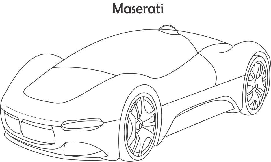 maserati coloring pages maserati coloring pages coloring pages