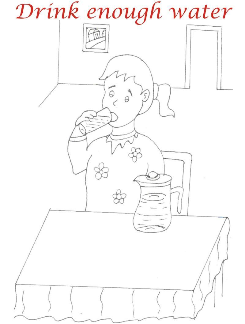 manners coloring pages printables - photo#7