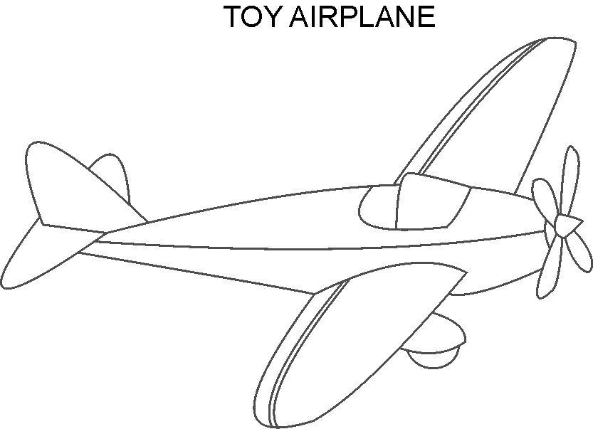 Free Printable Coloring Pages Of Airplanes : Free coloring pages of airplane printable