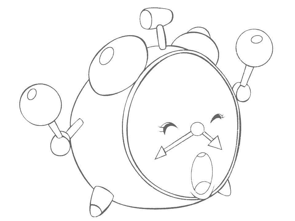 Daily Necessities Coloring Page For Kids 12 Daily Coloring Pages