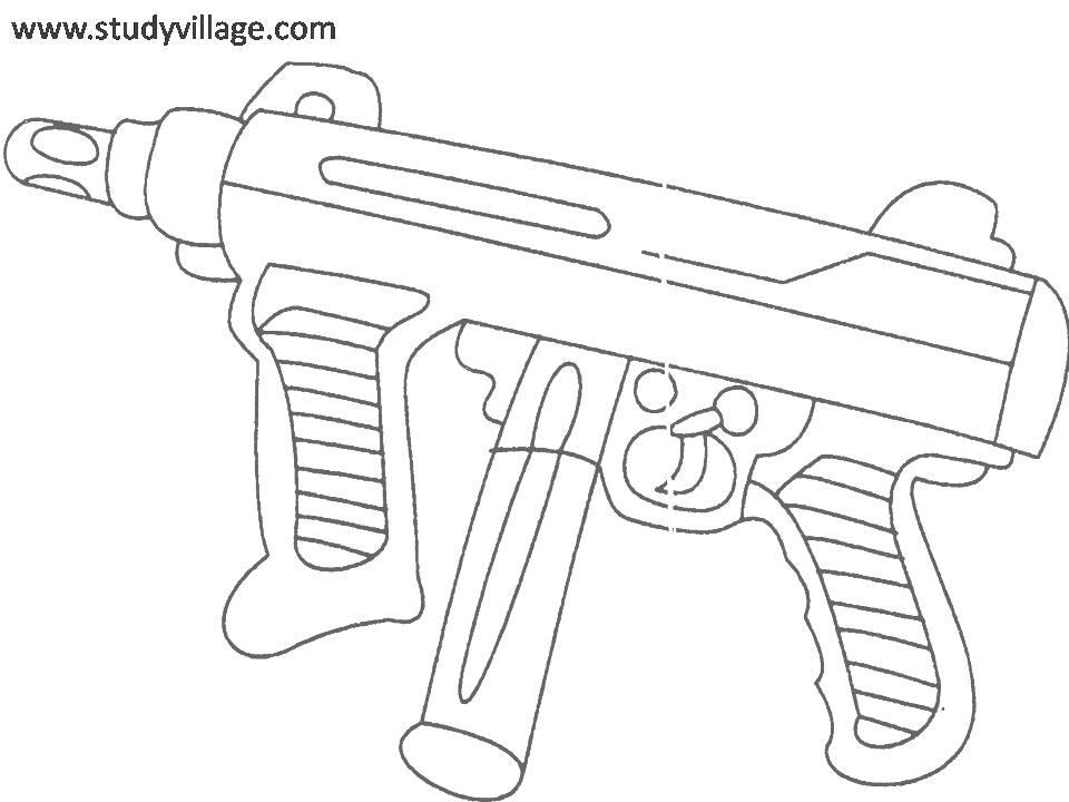 weapon coloring pages - photo#10