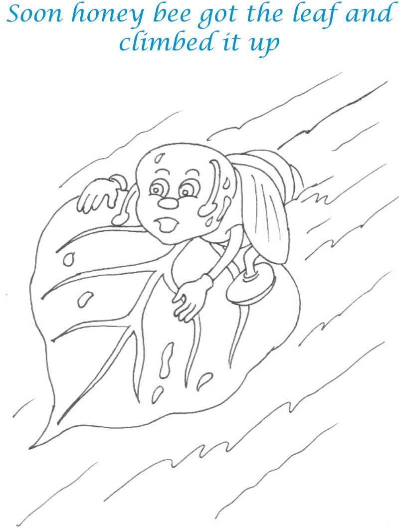 the ant and dove coloring pages sketch coloring page