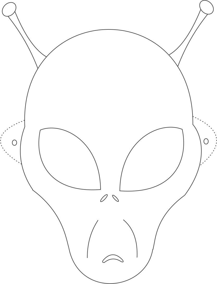 Hd Wallpapers Preschool Wolf Mask Template Love8designwall