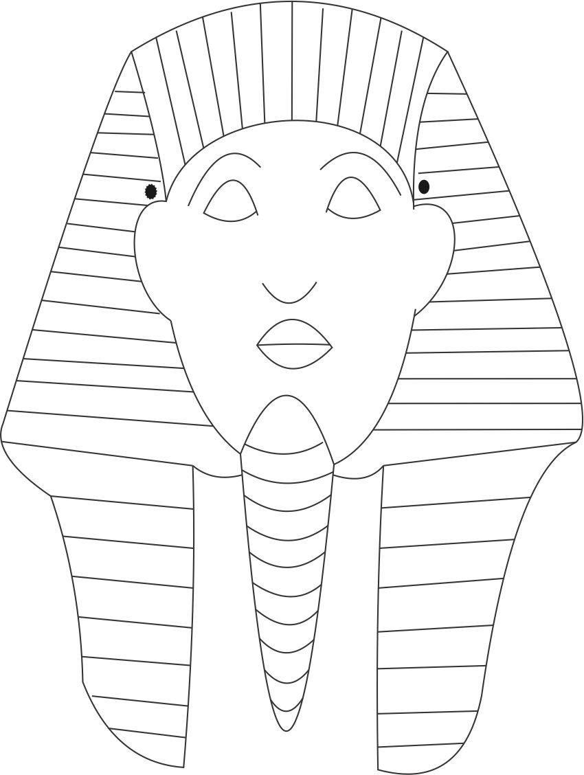 death mask coloring pages - photo#23