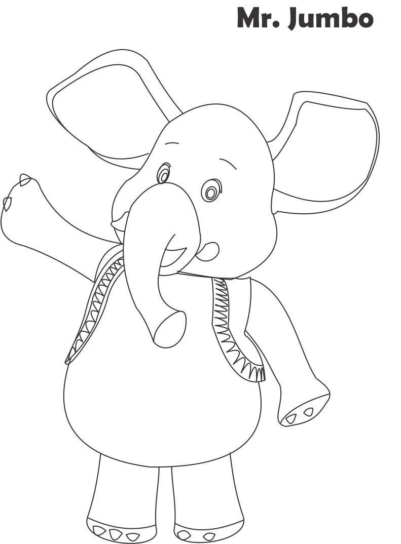 Jumbo jet coloring page coloring pages for Jumbo coloring pages