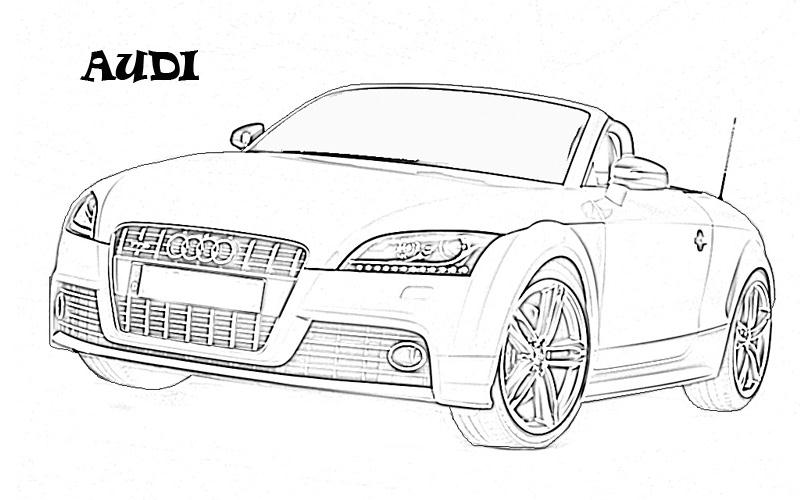 printable coloring pages exotic cars - photo#4