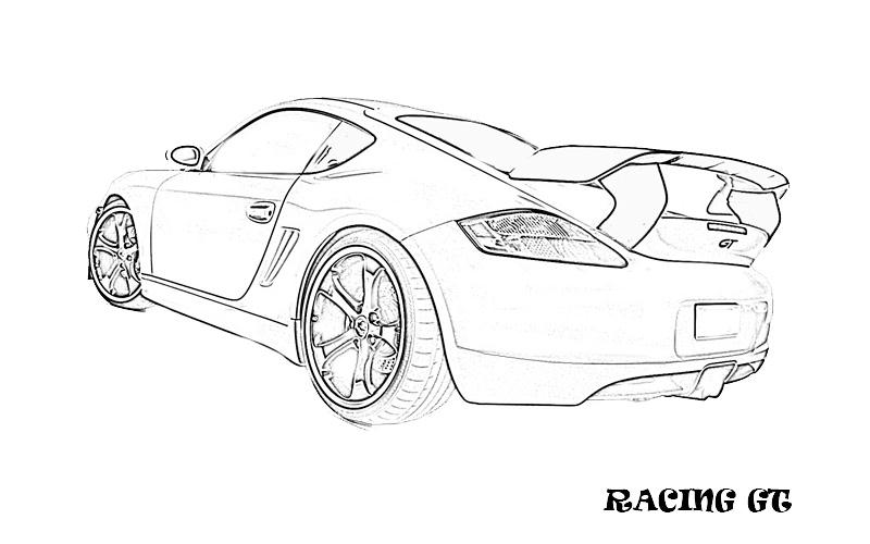 printable coloring pages exotic cars - photo#13