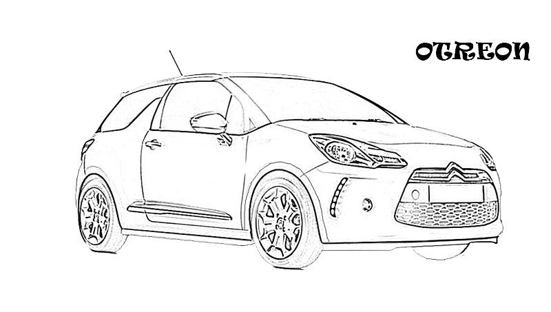printable coloring pages exotic cars - photo#6
