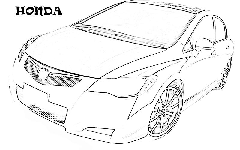 printable coloring pages exotic cars - photo#18