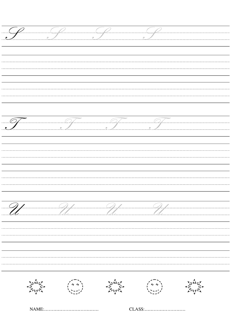 cursive writing sheets for 4th grade Cursive writing 3-4 workbook will help your child develop legible handwriting by providing clear instructions and many opportunities to practice.