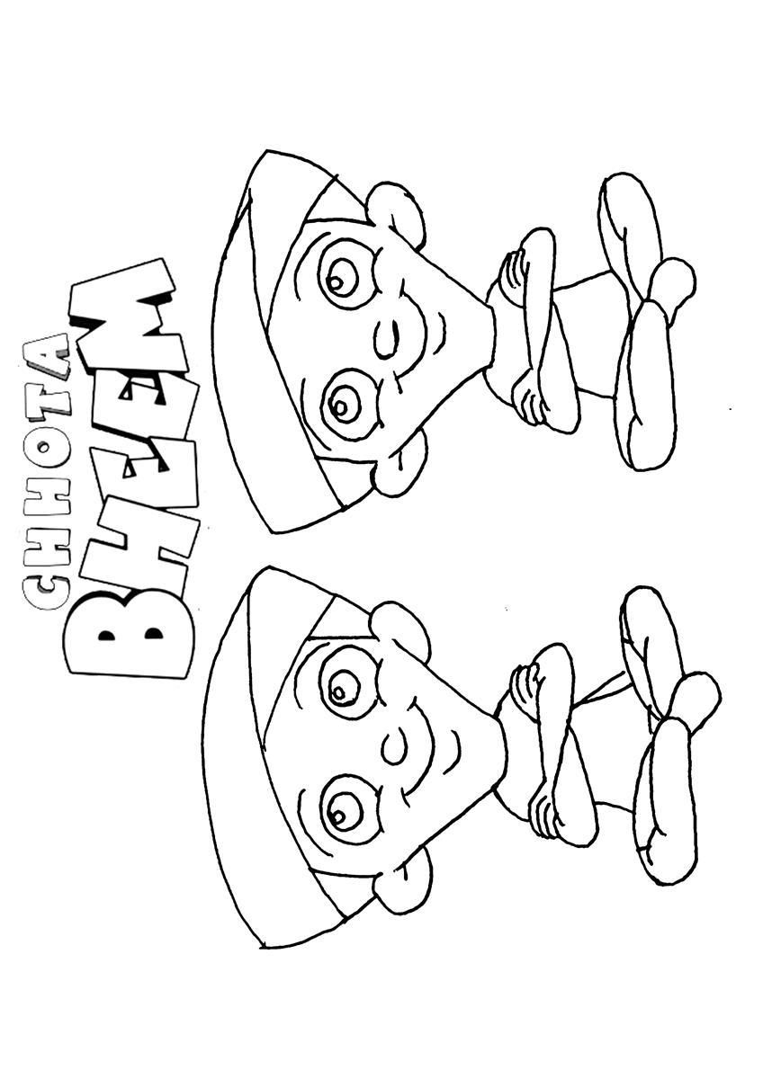 Online Coloring Chota Bheem : Free coloring pages of chota bheem aur krishna